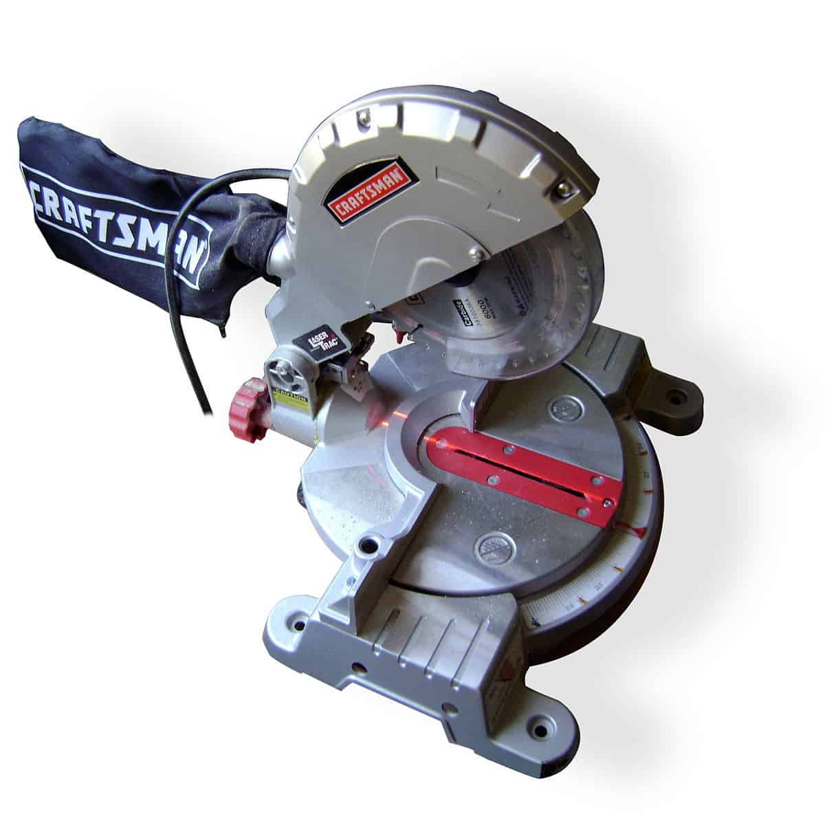 A motorized miter saw