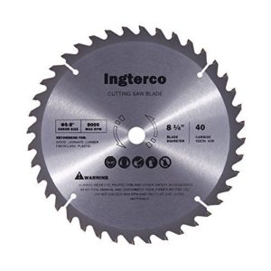 INGTERCO 8-1:4-Inch 40-Tooth