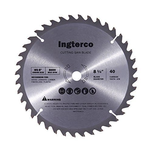 INGTERCO 8-1/4-Inch 40-Tooth