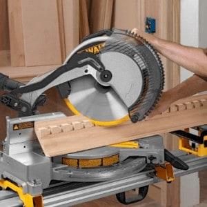 a miter saw