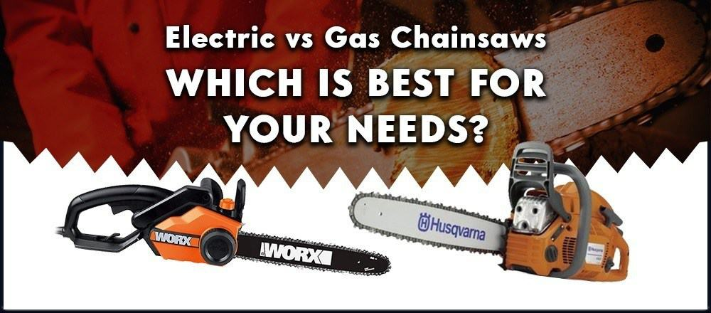 gas vs electric chainsaw
