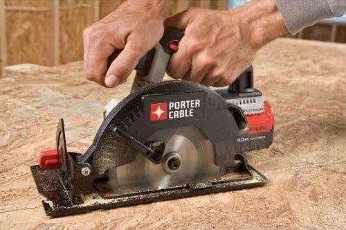 A PORTER-CABLE skill-saw