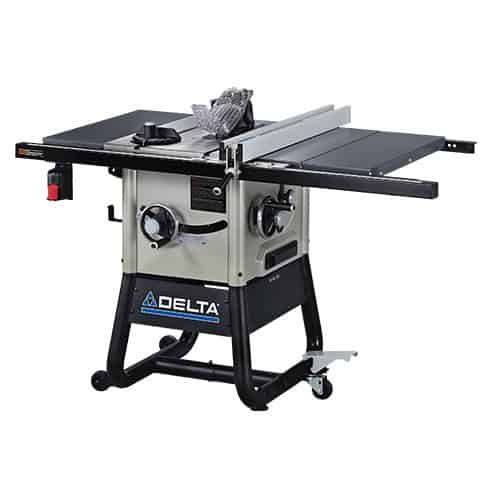 a Contractor Table Saw
