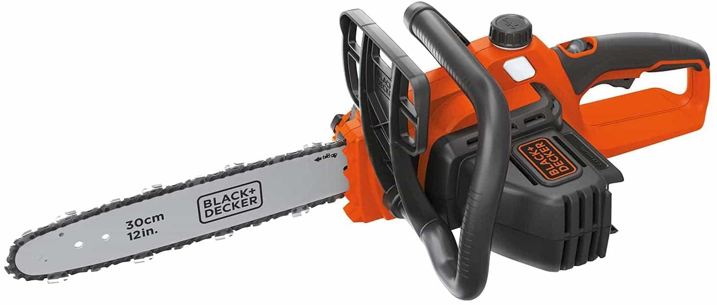 BLACK DECKER 40V Max Cordless Chainsaw, 12-Inch (LCS1240)