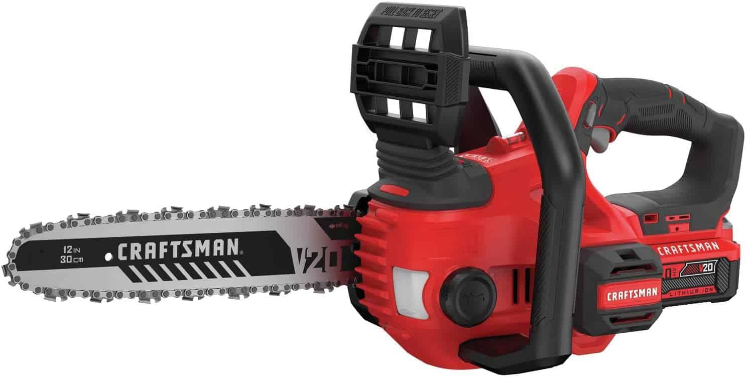 CRAFTSMAN V20 Cordless Chainsaw 12-Inch (CMCCS620M1)